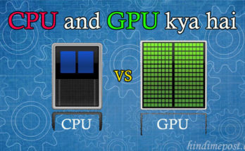 gpu and cpu full form and difference
