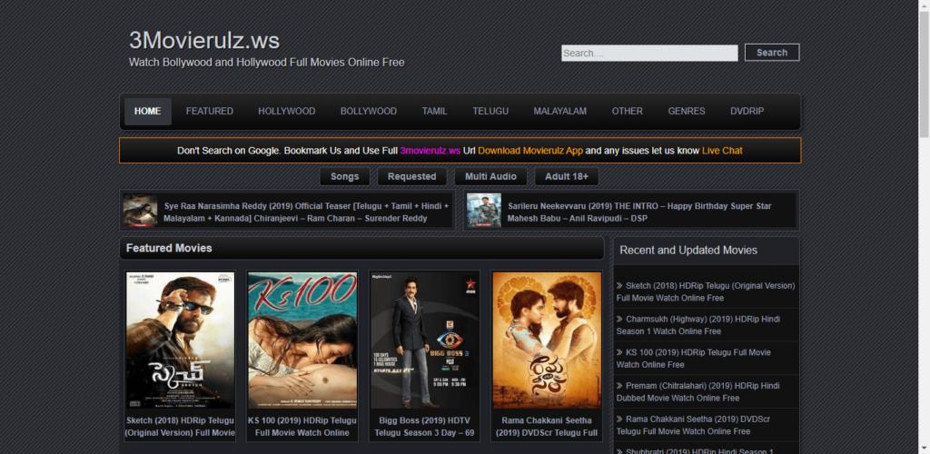 MovieRulz New Movies Download Hindi